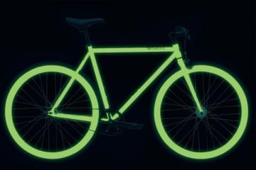 Bicicletta fosforescente