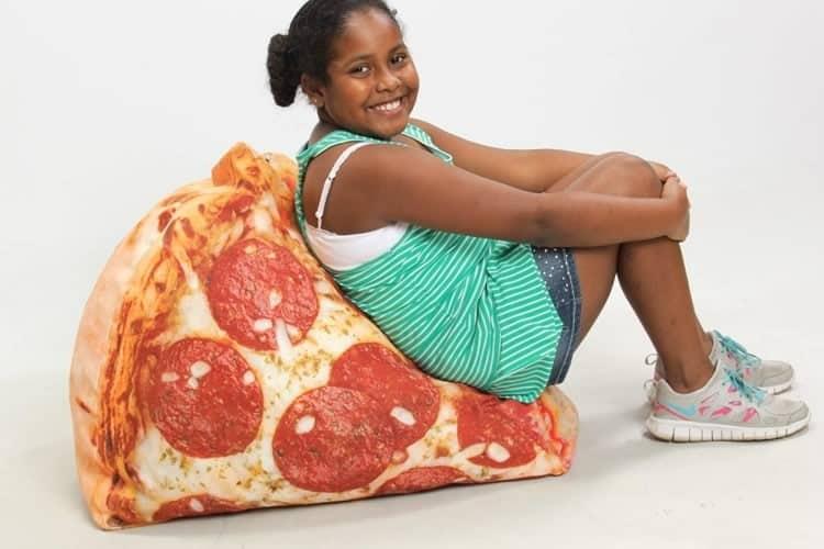 Pouf Fetta Di Pizza Dottorgadget