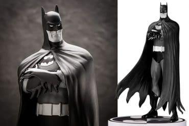 Batman in bianco e nero