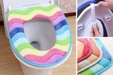 Tavoletta arcobaleno per WC