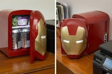 Mini frigo Iron Man