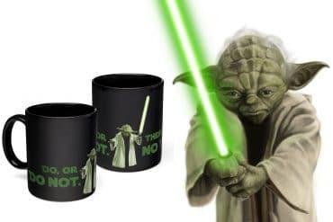 Mug termosensibile Yoda