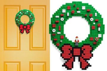 Corona di Natale LEGO