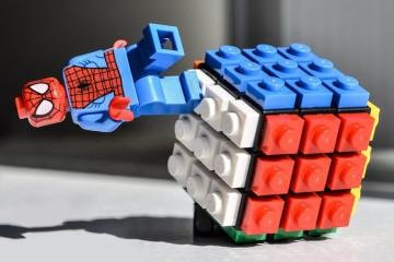 Mini cubo di Rubik di LEGO