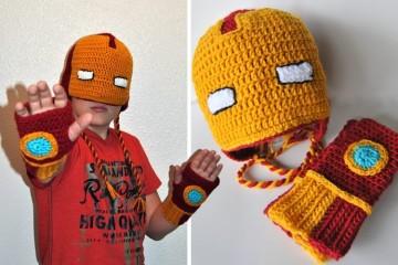 Iron Man di lana