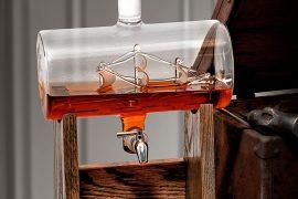 Dispenser nave in bottiglia