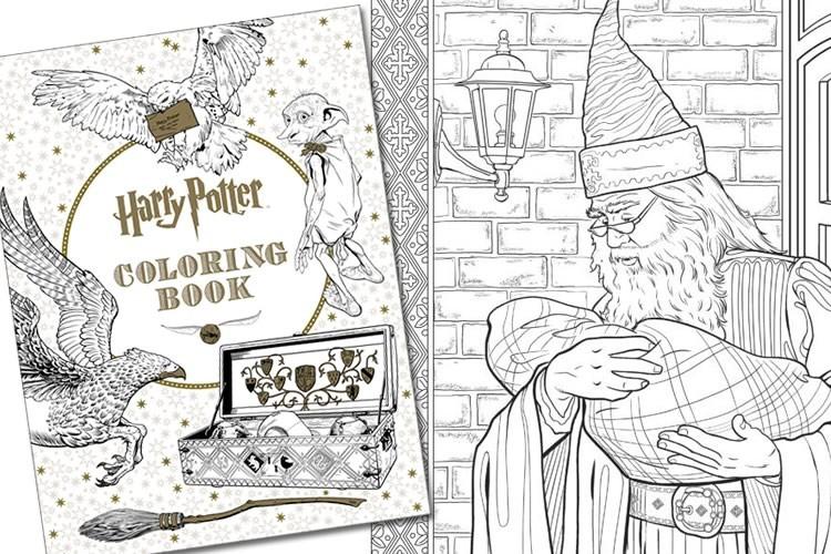 Libro Da Colorare Di Harry Potter