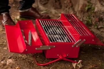 Cassetta per attrezzi BBQ