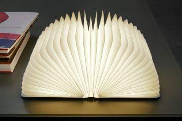 Lumio, la lampada libro