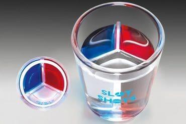 I bicchierini con divisori