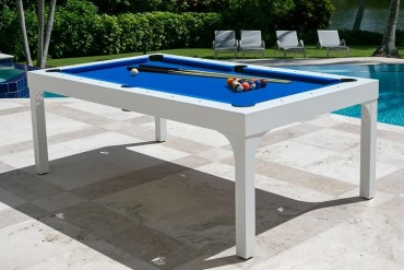 Tavolo da giardino con biliardo