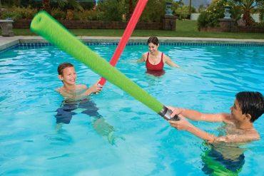 Spade laser da piscina
