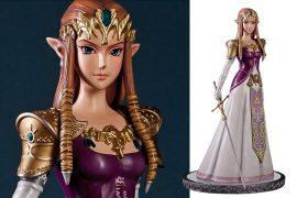 La statua della Principessa Zelda