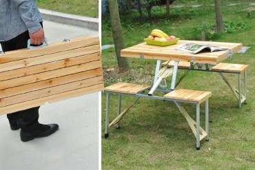 Tavolo da picnic portatile