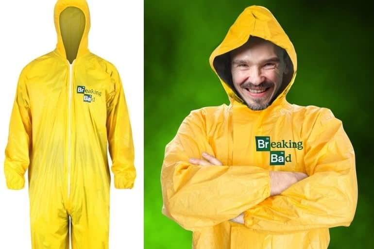 6039afe5e0 Tuta da laboratorio Breaking Bad | DottorGadget