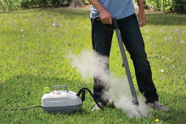 Elimina erbacce a vapore