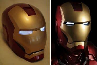 Elmo di Iron Man per cosplay