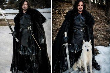 Mantello di Jon Snow