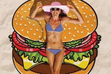 Salviettone Hamburger