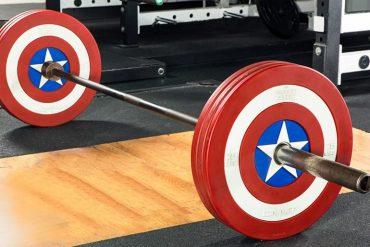 Attrezzatura fitness della Marvel