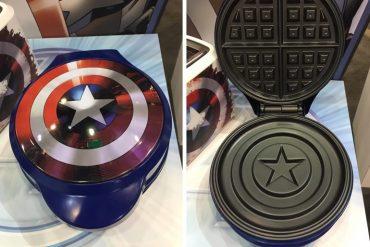Waffle di Capitan America