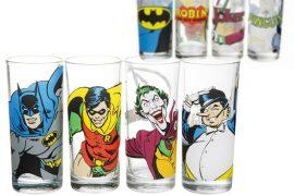 Bicchieri di Batman retrò