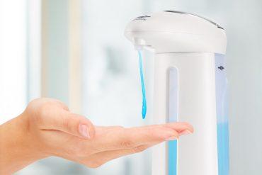 Dispenser di sapone ad infrarossi