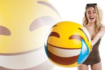 Palla gonfiabile Emoticon