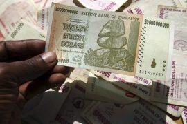Banconote da 1 miliardo di Dollari*