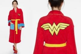 Accappatoio Wonder Woman