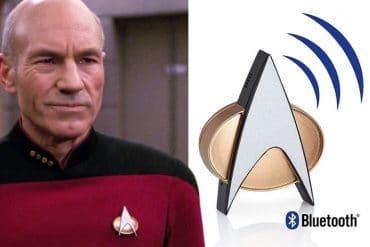 Badge Bluetooth di Star Trek