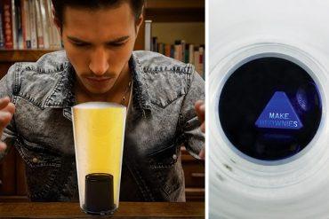 Bicchiere da birra mistico