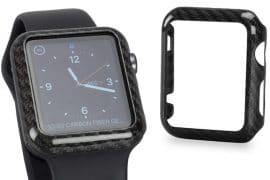 Carbon fiber case per Apple Watch