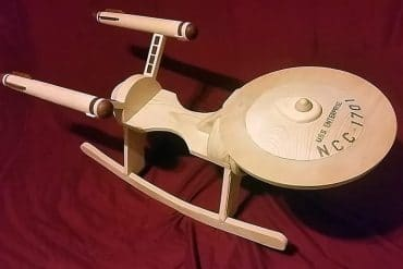 Enterprise a dondolo per bambini