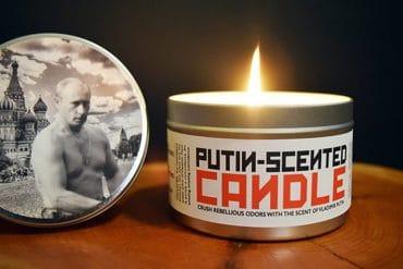 Candela profumata di Putin
