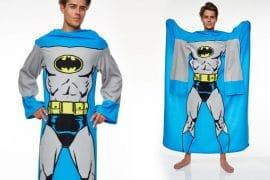 Coperta con le maniche Batman