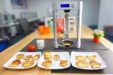Macchina stampa pancake