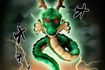 Peluche del drago Shenron