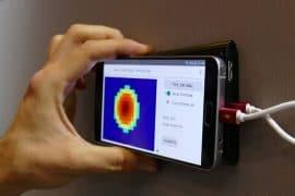 Rilevatore di tubature per smartphone