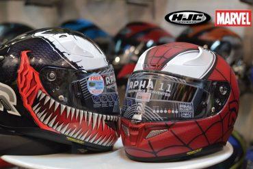Caschi HJC Spider-Man e Venom