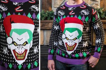 Maglione natalizio Joker