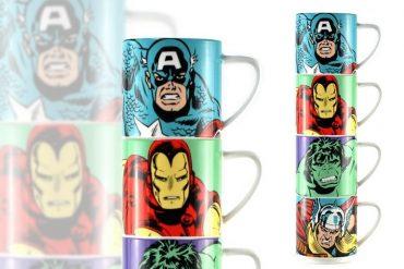 Torre di mug Avengers