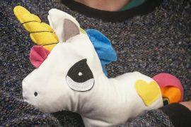 Unicorno da abbracciare