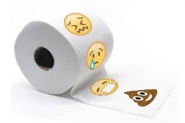 Rotolo di Carta igienica emoticon