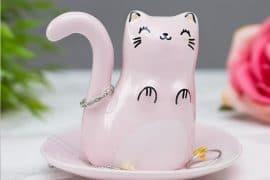 Gattino porta anelli