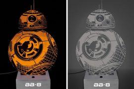 Lampada effetto 3D di BB-8