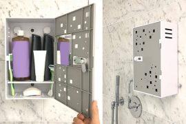 Cassaforte da doccia