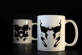 Mug termosensibile di Rorschach