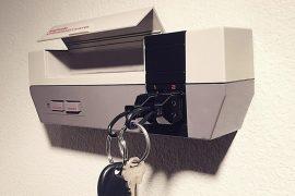 Portachiavi in stile NES