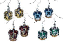 Orecchini 4 case di Hogwarts
